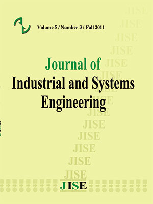 Journal of Industrial and Systems Engineering